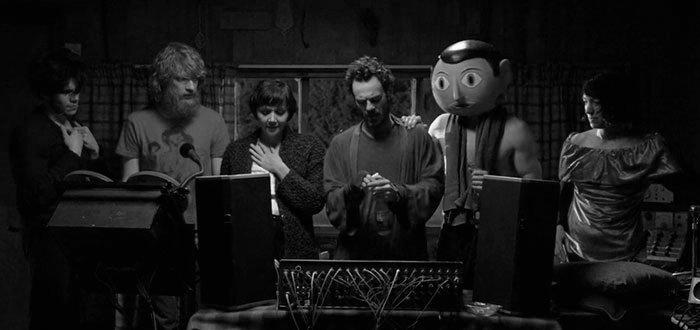 Fotograma de la película británico-irlandesa Frank